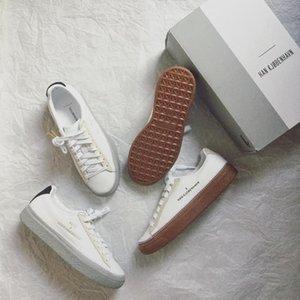هان Kjobenhavn x كلايد مخيط رجل وإمرأة عارضة أحذية منخفضة الأعلى أحذية رياضية الأزواج منصة الأحذية حجم 36-44 25