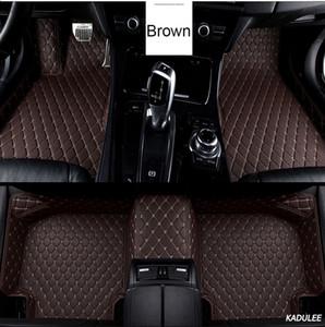 Custom Car Floor Mat Pied pour Ssangyong Kyron Actyon Korando Rexton Accessoires Liners sol imperméable Tapis Tapis