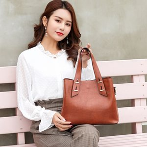 Damen New Clutch Fashion Schultertasche Nieten koreanische Art große Kapazitäts-Personality-Umschlag-Beutel PU-Leder Diagonal Bag