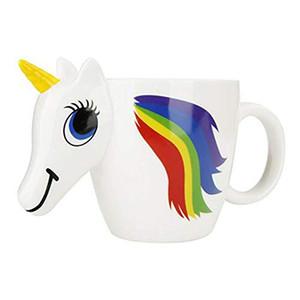 Tazza di caffè 3D Unicorn Tazza di caffè che cambia colore Tazza 300ml Tazze e tazze creative per il tè e il caffè Bicchieri da viaggio