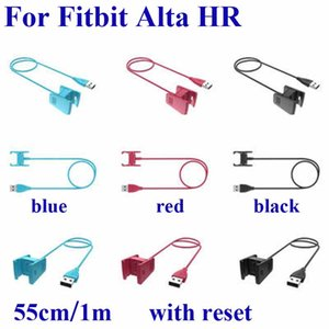 Для Fitbit Alta HR зарядная док-станция Smart Watch замена USB зарядный зажим с функцией сброса зарядный кабель шнур линии высокое качество