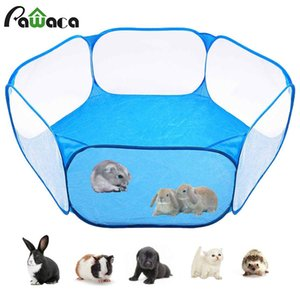 Pet Playpen Portable Pop Open Indoor   Outdoor Small Animal Cage Game Playground Fence for Hamster Chinchillas And Guinea- Pigs