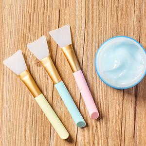 Máscara de silicona suave pincel de maquillaje profesional pincel Aplicar Mezcla espátulas Pincel Maquiagem Facial Diaria Herramientas cuidado de la belleza