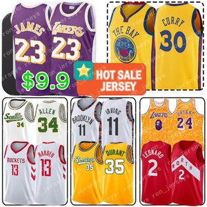 LeBron James 23 13 Harden Jerseys Kyle 0 Kuzma Stephen Curry 30 Joel 21 Embiid Ben 25 Simmons Ray Allen 34 Leonard Irving