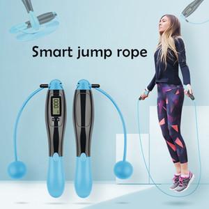 2,8 m Cuerda de salto de conteo electrónico inteligente inalámbrico Skipping Rope bajar de peso entrenamiento de la aptitud Cuerda de salto Deporter
