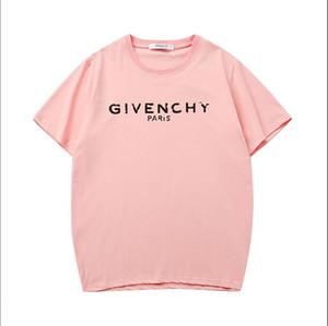 new designer t shirts Alphabet print Klassisches T-Shirt Angst vor Gott Männer und Frauen mit dem gleichen Absatz Outdoor Sport Box Logo Shirt