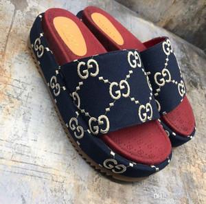 Новых женщины Оригинального G слайд Сандал женских тапочек мода случайных тапочки размера верхнего качества 35-40 с коробкой