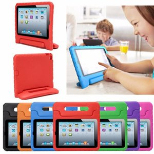 Wholesale Multifunction Kids Safe Soft EVA Light Foam Weight Shock Proof Handle Protective Case With Stand For iPad 2 3  Ipad Air ipad Mini