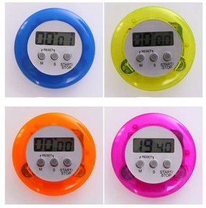 Round Electronics Countdown-Timer-Alarm Digital Desktop Timer Home Küche Gadgets Kochen Werkzeuge calculagraph Time Meter SN806