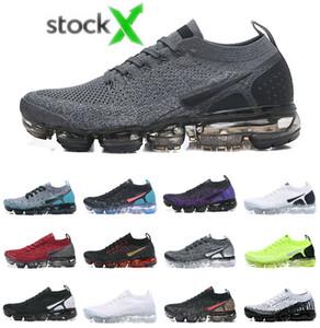 2019 증기 FK는 Moc 신발을 실행 저렴한 항공 실행 UTILITY 블랙 화이트 남성 여성 트레이너 스니커즈 무패 총알 CHAUSSURES 테네시 플러스 진실