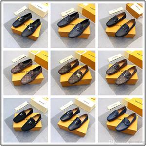 ¡Nuevo! 27 modelo New Designer Luxury Brogue Shoes para hombre Ceremonia de estilo británico Oxfords Fashion Dress Shoes For Men 27 color disponible