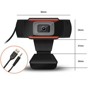 Веб-камера HD Веб-камера 30FPS 480P 720P 1080P PC Камера JX-H62 Встроенный микрофон USB 2.0 Видеорегистратор для компьютера для ноутбука