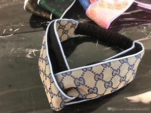 Резинки для волос Elban Turban Heaband для женщин Модные ободки для волос Letter Аксессуары для волос