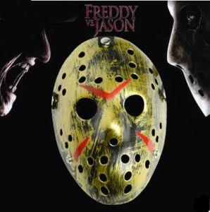 Blockbuster Halloween Freddy bataille Jason Mask Horreur masque de résine de Noël