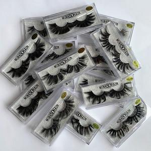 16styles pestanas falsas 5D Mink cílios 25 milímetros cílios Natural Longo Mink Lashes High Volume Fluffy pestana Maquiagem Tool