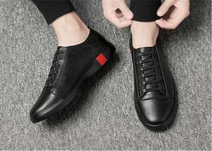 Popüler rahat ayakkabılar yaz yeni sneaker eğilim ayakkabı Kore versiyonu düşük üst moda deri erkek ayakkabı, rahat ayakkabılar, yürüyüş ayakkabı 38-46