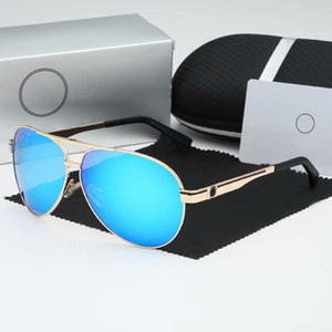 2019 Brand Designer Sunglasses Donne e uomo Occhiali da sole da sole classici Business da uomo Anti-abbagliamento Occhiali da sole Guidare Occhiali da sole 6 colori