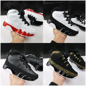 Wholesale 2020 New Kids 9s 9 Basketball Shoes Oreo Black White Shoes Space Tour Yellow PE 9s sport trainer Children Birthday Sneakers