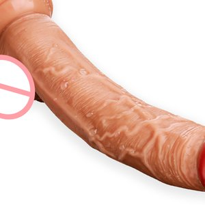 Silicone Realistic Dildo for Women Huge Suction Cup Penis Fake Dick Females Masturbation Toys Erotic Lesbian Adult Sex Machine T200706