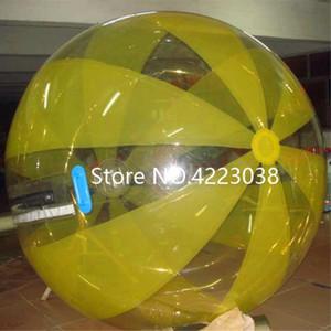 Ücretsiz Kargo 2.0 m Dia Şişme Su Yürüme Topu Su Haddeleme Topu Su Balon Zorb Topu Şişme Insan Hamster Plastik