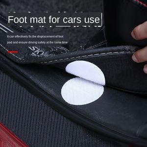 KzCOm Çarşaf kaymaz ped sabit kanepe görünmez silikon Traceless kaymaz karşıtı çalışan mat Velcro kaymaz mat etiket iğnesiz mecusi