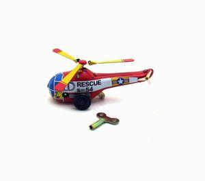 Tin Wind-Up, Giocattolo, elicottero Retro latta, Aeromobile, Adulto Infanzia Nostalgia, per la raccolta, decorazione del regalo, Kid 'compleanno'