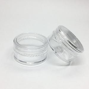 5 Грам Косметическая Пластиковая Баночка Прозрачный Базовый Крем Пустой Горшок Образца Банку 5 МЛ Мини Пластиковая Бутылка Nail Art Блеск Порошок Контейнер Дело