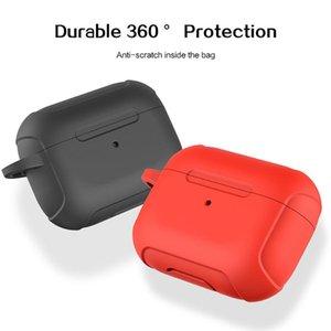 CAS airpods 무선 충전 박스 실리콘 스크래치 수호자 집어 보호 카하 드 airpods 공기 포드 프로 케이스