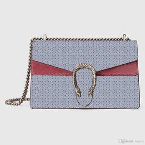 Sac sacs de créateurs épaule haut luxe unique marque mode Incliné célèbres femmes crossbody taille 400249 paquet de vin Mini 2020 5ARR