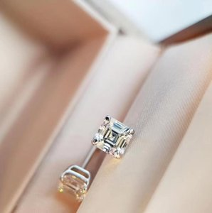 Luxury Wedding Engagement Jewelry Stud Earrings Silver Plated Material Foundation Diamond Drill Stud Earrings Designer B V Jewelry