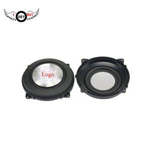 OEM Par 4 polegadas 120 milímetros DIY Bass Radiator Passive Radiator Speaker alumínio escovado Metal For Low Frequency Woofer altofalantes do carro