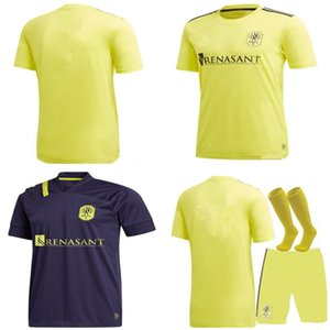 Men kids kit 2020 2021 Nashville SC men soccer jersey 20 21 MUKHTAR BADJI LOVITZ MCCARTY GODOY set FOOTBALL SHIRTS