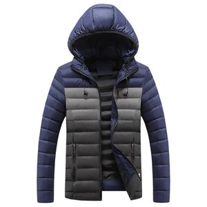 Men fashion Winter Jacket Warm Thick Parkas Casual Male Cotton-padded clothes Jackets Cotton Outerwear