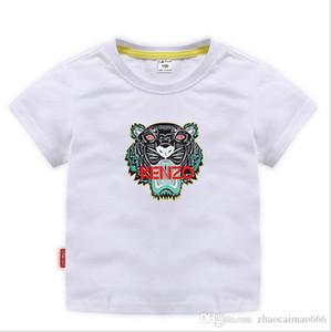 TRGU Новый Дизайнерский Бренд 2-9 Лет Мальчики Девочки Футболки Летние Рубашки Топы Дети Тройники Детские рубашки Одежда A01