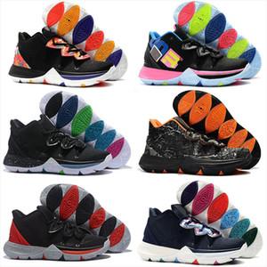 تقتصر 5 رجال Kyrie في الهواء الطلق أحذية كرة السلة 5S السحر الاسود لKyries Chaussures دي كرة السلة للرجال الاحذية أحذية رياضية Zapatillas 40-46
