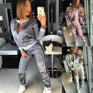 2019 women's sportswear two piece set sport yoga pants sports tracksuits jogging suits Favourite clothing