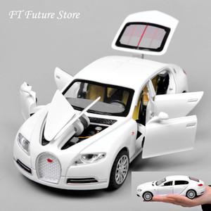 Ucuz 1:32 Bugatti Galibier Veyron Araba Modles Alaşım Diecast Modeller Brinquedos Koleksiyonu Geri Çekin Çocuk Oyuncakları Hediyeler Görüntüler SH190910