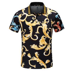 2019Polo RL T-Shirt Großhandel Freies Verschiffen neue Marken-Polo-Kragen-Sommer-beiläufige Herren Polos Kurzarm Polo T-Shirt aus 100% Baumwolle Größe M-3XL