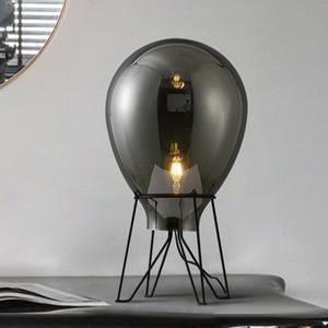 Nordic Creative Glass Art Tischlampe Restaurant Hotel Home Wohnzimmer Schlafzimmer-Dekor-Schreibtisch-Licht-TA171