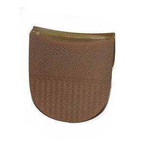 Heel 1pair Thicken macia Elastic Rubber Plano solados Repair Heel Protector DIY substituição Anti Slip sola Homens Mulheres