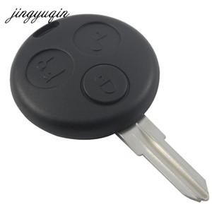Per Mercedes per benz Smart Fortwo Shell chiave 3 pulsanti Uncut Lama remoto sostituzione della copertura della cassa chiave dell'automobile