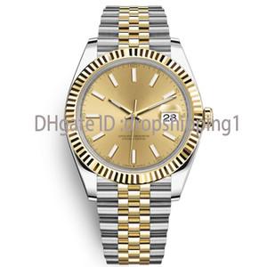 2020 Hot Mens Watch 41mm Mouvement automatique Montres en acier inoxydable Hommes 2813 Designer mécanique Montres-bracelets de luxe pour hommes