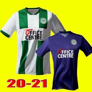 TAMAÑO S-XXL 20 21 camisetas de fútbol FC Groningen hogar lejos Robben 2020 camisetas de fútbol 2021 Groningen Zeefuik Daishawn Redan maillot de los pies