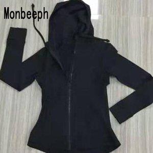 MOnbeeph 2019 Женские куртки на молнии на молнии толстовки куртка размер Бесплатная доставка 4-12 MX191025