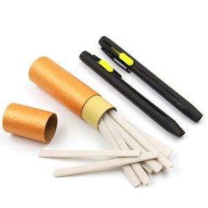 1set Couture Crayons de Chalk Tissu Chalk Marker Disappearing bricolage Artisanat Tailleur Vêtements pour vêtement couture Accessoires