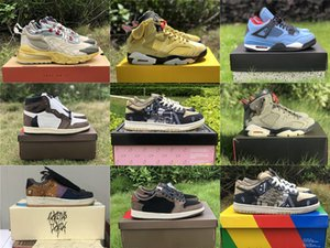 أحذية أصيلة ترافيس سكوت SB دونك 1S صبار جاك كرة السلة للرجال 6S GLOW IN THE DARK 270 الاحذية أحذية رياضية مع صندوق أصلي