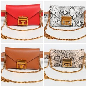 Padrão Cobra Cadeia Decore cintura Bag Mini Mobile Bag removível Belt Único Shoulder Bags Outdoor Sports Popular Projeto 27jsH1