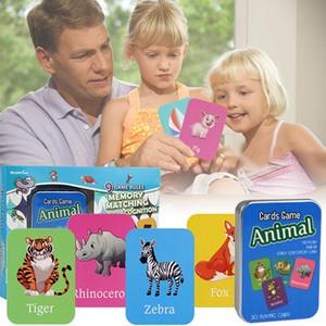 Family Party Schreibtisch-Spiel-Entertainment Englisch Game Card Memory Training Intelligenz Anbau-Karte für Erwachsene Kinder-Party