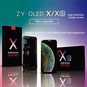 ORIWHIZ أفضل جودة للآيفون X XS XR XS MAX العرض الجمعية LCD تعمل باللمس OLED أو TFT بالجملة ZYX RX SLX JKX