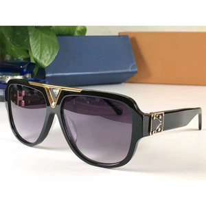 2020 new luxury fashion designer ladies sunglasses square plate frame simple popular style top quality brand outdoor UV400 glasses 1266